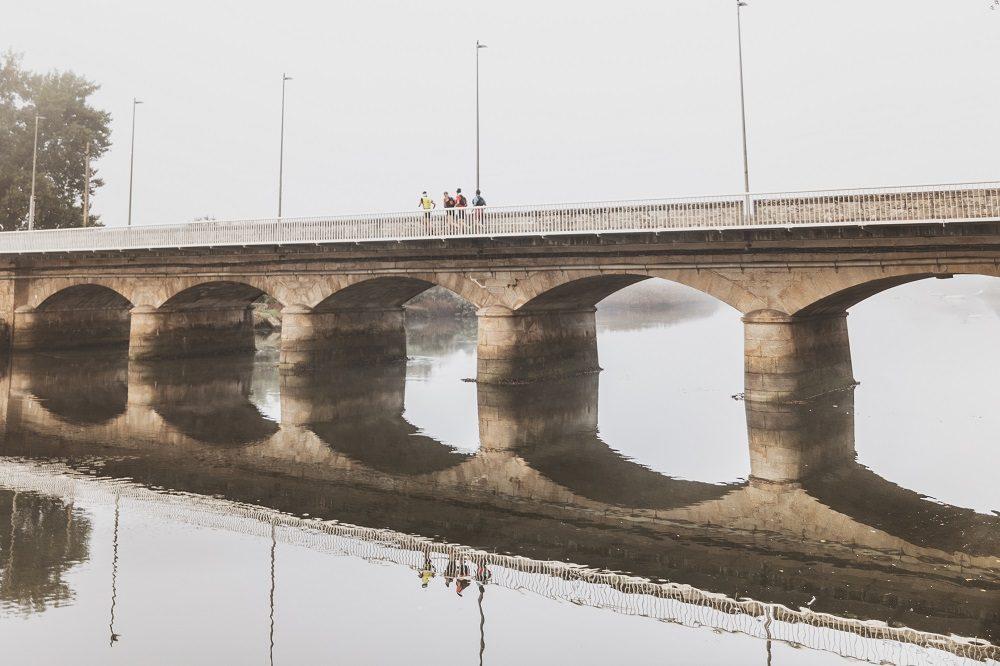 Puente que delimita Ponteceso y Cabana de Bergantiños