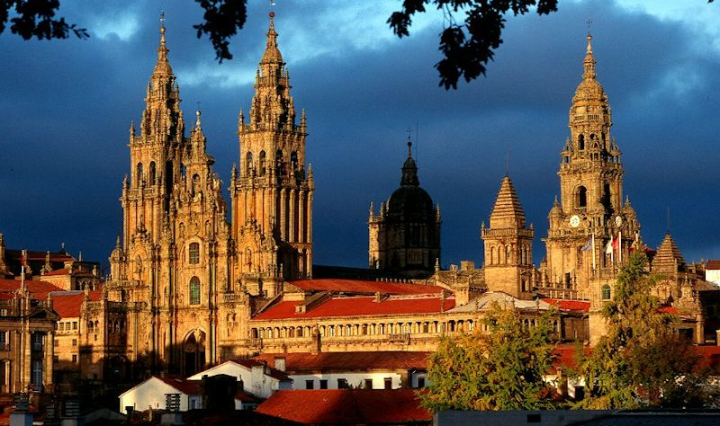 Santiago de Compostela. Capital de Galicia